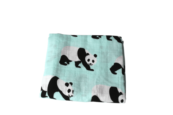 family36 bio mulltücher namensbestickung panda